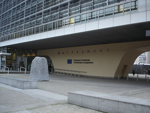 Picture of the Berlaymont in Brussels. (cc) BY-SA david levy