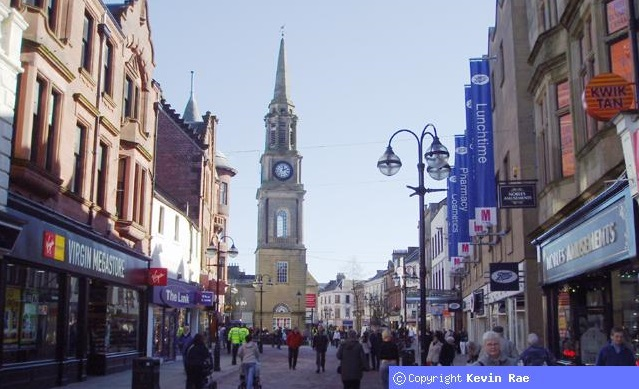 Falkirk High St by Kevin Rae CC BY_SA