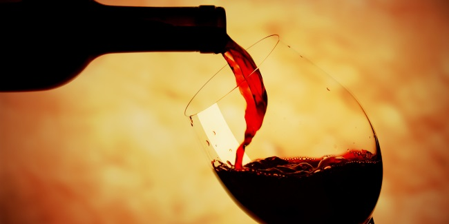 pouring the red