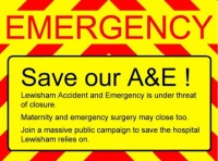 Save Lewisham A&E – Hunt's broken the Law
