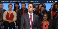Ed Miliband's Leader's speech, what I think!