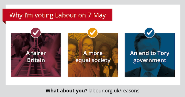 Vote Labour!