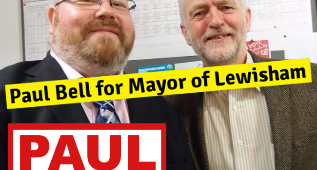 Paul Bell for Labour Mayor