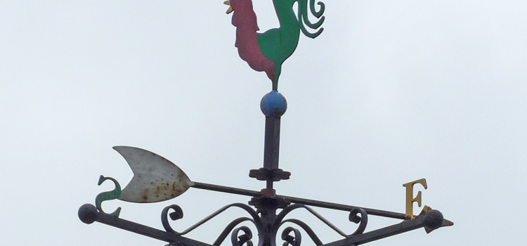 Signposts and weather cocks