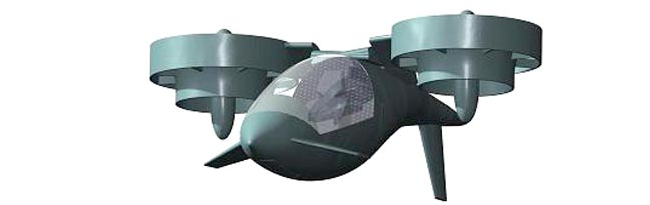 kestrel flying car