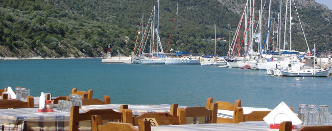 Sailing in the Ionian