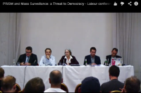 What was said at the ORG meeting on the surveillance state?
